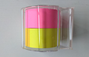Washi paper sticker with tape dispenser set
